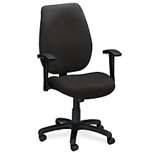 Ratchet Back Fabric Ergonomic Executive Chair, OFM-611
