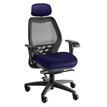 Mid-Back Mesh Ergonomic Task Chair with Headrest, NGL-6100D