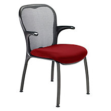 Mesh Back Guest Arm Chair, NGL-6301