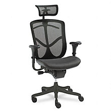 High Back Mesh Ergonomic Executive Chair with Headrest, UNE-EQA41
