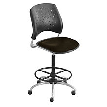 Stars Armless Drafting Stool, OFM-326-DK