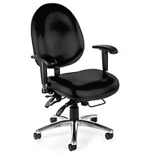 247 Series Vinyl Heavy Duty 24 Hour Ergonomic Chair, OFM-247-VAM