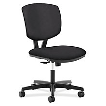 HON Volt Armless Computer Chair in Vinyl, HNC-10471
