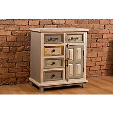 Five Drawer Accent Cabinet, 8817908