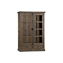 Double Door Cabinet - Aged Gra, 8818834