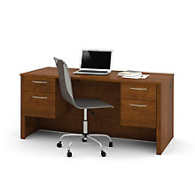 "66"" Executive Desk w/Half Peds, 8813009"