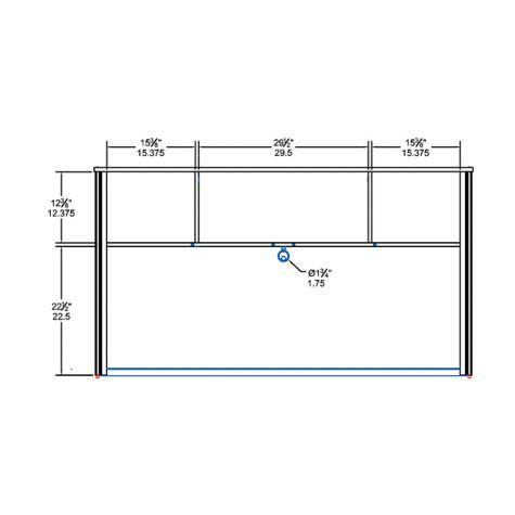 Hutch interior dimensions
