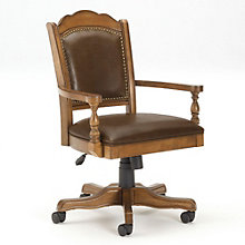 Nassau Adjustable Office Chair in Faux Leather, 8803921