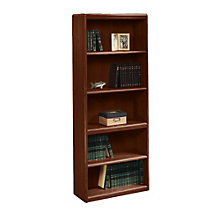 Cornerstone Five Shelf Bookcase, SAU-7395-105