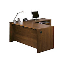 "Reversible 66"" L-Desk w/Ped, 8813013"