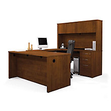 Reversible U-Desk w/Pedestal, 8813015