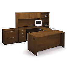 Reversible U-Desk w/Storage, 8813016