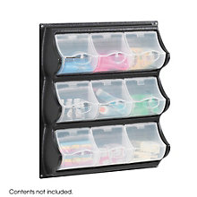 Nine Pocket Panel Bins, 8802512