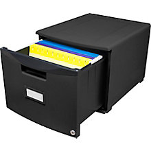 "Single Mobile Filing Drawer - 15""W, 8823870"