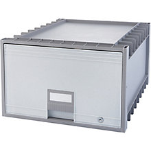 "Locking Legal-Sized Archive Storage Box - 18"", 8823860"