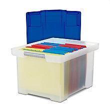 "Storage File Tote - 18.5""W x 14.25""D, 8823875"