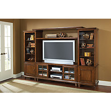 Large Entertainment Wall Unit, 8817479