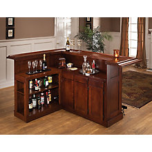 Large Cherry Bar with Side Bar, 8817201