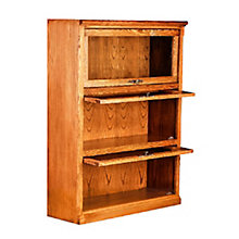 "3 Shelf Mission Style Barrister Bookcase - 49""H, 8802137"