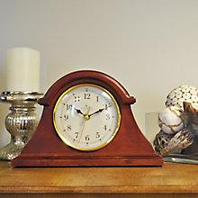 "Napoleon Solid Wood Tabletop Clock - 12"", 8813487"