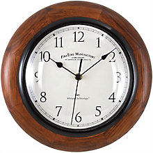 "Solid Wood Wall Clock - 11"", 8813467"