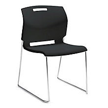 Popcorn Sled Base Armless Stack Chair, 8814307