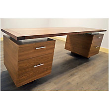 "Double Pedestal Desk - 72""W, 8804838"