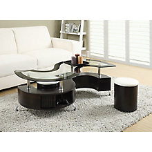 Coffee Table And Stool, 8824485