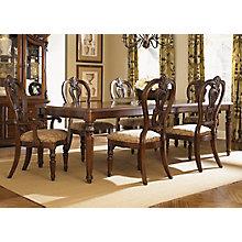 7 Piece Leg Table Set , 8811362