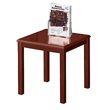 Solid Wood Traditional End Table, LES-D1279T5