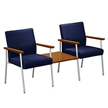 Uptown Fabric Guest Chairs with Center Table, NBF-S2711GF