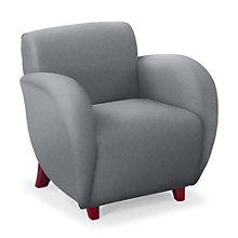 Curve Fabric Club Chair, NBF-SF2471