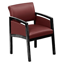 Lenox Panel Arm Vinyl Guest Chair, 8825905