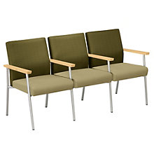 Uptown Three Seat Loveseat with Center Arms, LES-S3703G7N