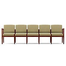 Amherst Five Seat Vinyl Sofa, LES-K5401G5V