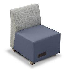 Compass Armless Lounge Chair, 8807984