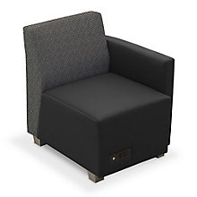 Compass Lounge Chair with Left Arm, 8807985