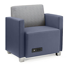 Compass Lounge Chair with Arms, 8807987