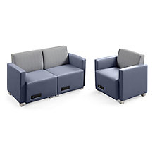Compass Loveseat and Armchair, 8813027