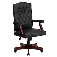 bonded leather office chair, 8811664