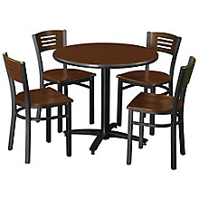 Break Room Table and Four Chairs, OFG-TS1023
