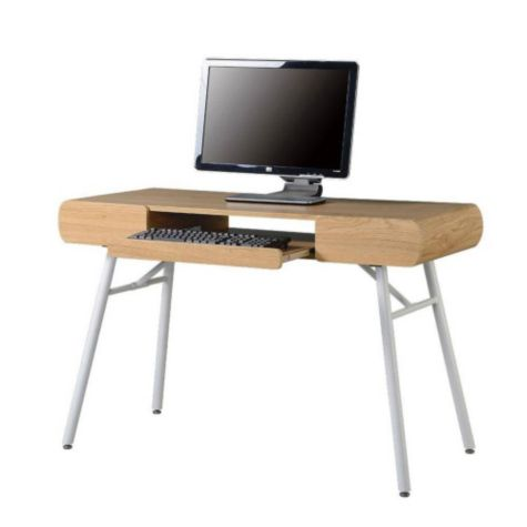 48 Quot Modern Slim Computer Desk By Techni Mobili