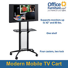 Impromptu Flat Panel TV Cart, 8802517
