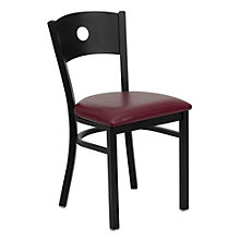 Jackson Circle Back Design Cafe Chair with Vinyl Seat, 8803714