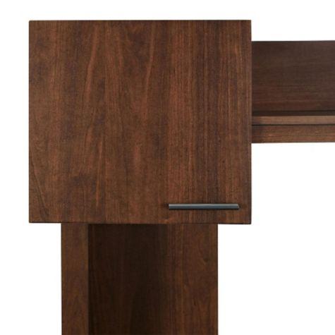 Corner cabinet closed