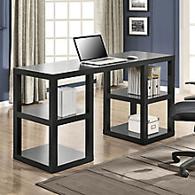 Parsons Collection Double Open Pedestal Desk, 8803953