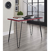 Owen Collection Retro Metal Leg Desk , 8803964