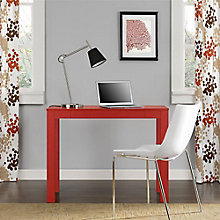 Parsons Collection Desk with Center Drawer, 8803967