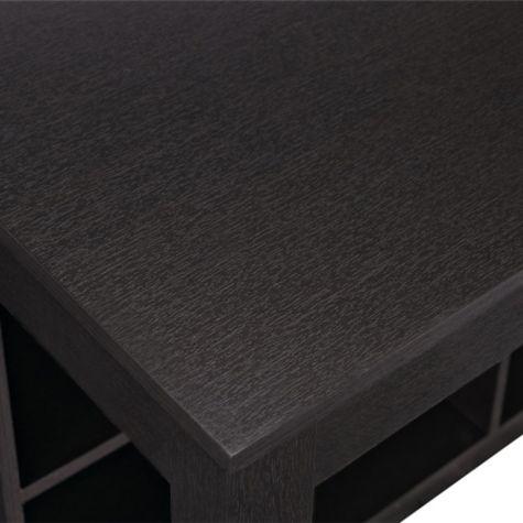 Corner of desk