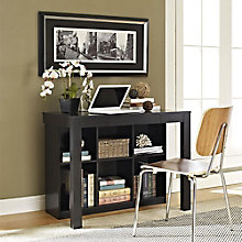 Parsons Collection Desk with Shelves, 8803968